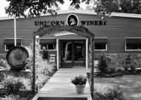 Unicorn Winery Resident Artist Melanie Haislip Wine Art